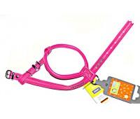 Hunter Smart шлейка для собак Modern Art RS Luxus 35/11 (25/27-33 см) кожзам розовый