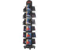 Flexi Готовое решение на торговое оборудование 51 рулетка + 3-сторонняя стойка
