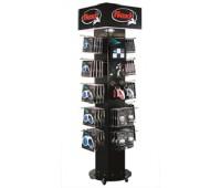 Flexi Vario Готовое решение на торговое оборудование 57 рулеток и аксессуаров + 4-сторонняя стойка с видео дисплеем