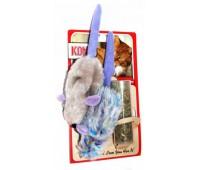 """Kong игрушка для кошек """"Мышки"""" 2 шт. плюш с тубом кошачьей мяты"""