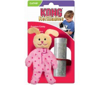 """Kong игрушка для кошек """"Кролик в пижаме"""" текстиль с тубом кошачьей мяты"""