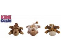 """Kong игрушка для собак """"Кози Натура"""" (обезьянка, барашек, лось) плюш, средние"""