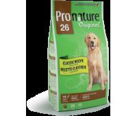 Корм Pronature 26 для взрослых собак крупных пород, 20 кг.