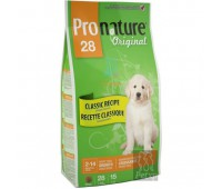 Корм Pronature 28 для щенков крупных пород, 20кг.
