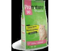 Корм Pronature 30 для котят, 2.72 кг.