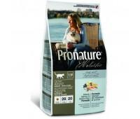 Pronature Holistic Adult Indoor сухой корм для здоровья кожи и шерсти взрослых кошек (с лососем и рисом)