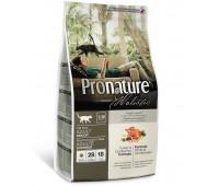 Pronature Holistic Adult Indoor сухой корм для домашних кошек (с индейкой и клюквой)