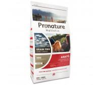 Pronature Holistic Grain Free Asiato «Азиатская Кухня» полноценный беззерновой сухой корм для собак (крупная гранула)