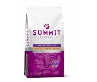 Корм Summit holistic для котят и кошек три вида мяса с цыпленком, лососем и индейкой, Original 3 Meat, Indoor Cat Recipe CF