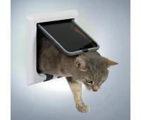 Дверца для кошки белая, 4 позиции