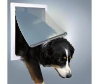 Дверца М-XL для собак, белая